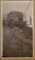 1932 Photo De L'expédition Transsaharienne Sahara Algérie Alger Mali Gao Camion Saurer Col De Ben Chicao - Coches