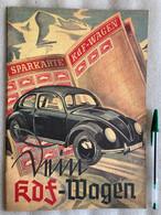 Vnim  Kdf-Wagen - Kraft Durch Freude - Hitler Propaganda - Kever - Oorlog - War - Beetle - VW - Reprint 1989 - 5. Guerre Mondiali