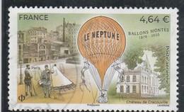 FRANCE 2020 BALLONS MONTES LE NEPTUNE OBLITERE - 1960-.... Matasellados