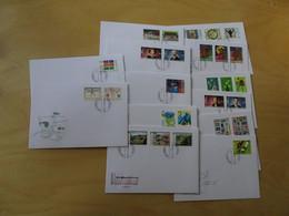 Liechtenstein Jahrgang 2002 FDC Komplett (15580) - Covers & Documents