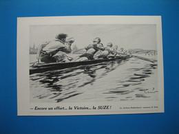 (1938) Apéritif SUZE Et Aviron (illustrateur Paul Ordner) - Collections