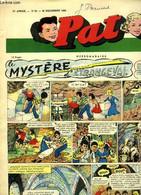 """Pat N°53 - 11e Année : Edmond THIEFFRY - """"999 ... Scotland Yard écoute ! ... """" - DEBAILLE Amand & COLLECTIF - 1956 - Other Magazines"""