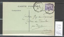 Tunisie - Convoyeur Ligne : Metlaoui à Sousse - 1926 - Covers & Documents