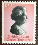 British Indian Ocean Territory BIOT 2003 Queen Elizabeth II £2.50 Definitive MNH - British Indian Ocean Territory (BIOT)