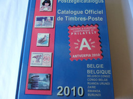 2010 OFFICIELE CATALOGUS BELGIE - TWEETALIG - 1.7 KILO - Bélgica