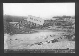 Frasne-Vallorbe   Remblai De Ste Marie - Installation D'une Passerelle De Service Sur Le Doubs 17/12/1912 Reproduction - Altri Comuni