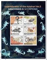 Botswana - 2021 Scorpions MS (**) - Spinnen