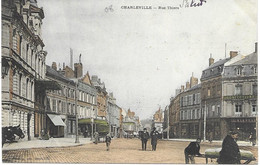 """08 - CHARLEVILLE -  """"  Rue Thiers """" -  Colorisée - Circulé - - Charleville"""