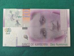Banco De Kamberra 10 - Non Classificati