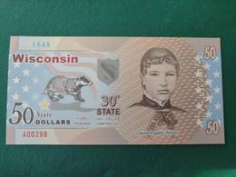 Wisconsin 50 Dollars - Unclassified
