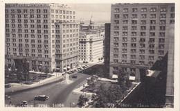 CHILE. SANTIAGO, PLAZA BULNES. FOTO AÑO 1955. PHOTO CHILI, SIZE: 14X8.5CM - LILHU - Places