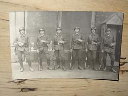 Carte Photo Militaires De La RUHR En ALLEMAGNE ................ 3283 - Régiments