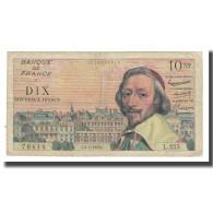 France, 10 Nouveaux Francs, Richelieu, 1963, P. Rousseau And R. Favre-Gilly - 10 NF 1959-1963 ''Richelieu''