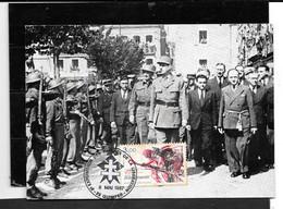 Le Général De Gaulle à Quimper 22Juillet1945 (recto/verso) - Personajes