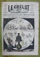 Journal Satirique - LE GRELOT - 1888 - Les Mémoires De Frédéric III - 1850 - 1899
