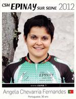 CYCLISME: CYCLISTE : ANGELA CHEVARRIA - Ciclismo
