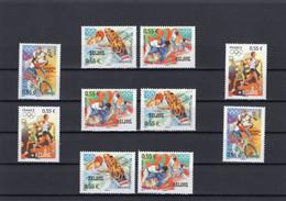 France 2008 - Olympic Games Beijing 2008 - Stamps 10v - Complete Set - MNH** - Excellent Quality - Nuovi