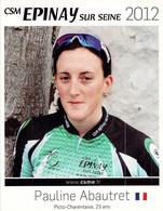 CYCLISME: CYCLISTE : PAULINE ABAUTRET - Ciclismo