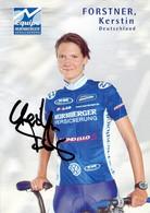 CYCLISME: CYCLISTE : KERSTIN FORSTNER - Ciclismo