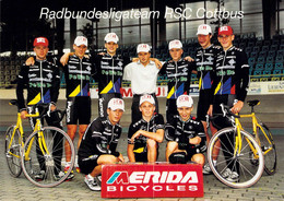 CYCLISME: CYCLISTE : GROUPE RSC COTTBUS - Ciclismo