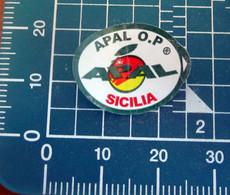 Apal Sicilia Mini Etichetta Fruit Frutta Adesiva Usata - Fruit En Groenten