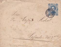 ARGENTINE. ENTIER ENVELOPPE. CIRCULEE BUENOS AIRES, ANNEE 1892.- LILHU - Enteros Postales