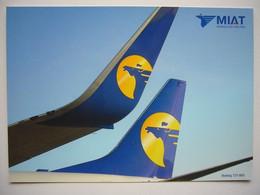 Avion / Airplane / MIAT / Boeing B 737-8AS / Airline Issue - 1946-....: Modern Era
