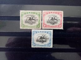 PAPOUASIE. 1910 . Timbres De Service N°17.18.20. NEUFS+  . Côte YT 2020 : 165,00 € - Papouasie-Nouvelle-Guinée