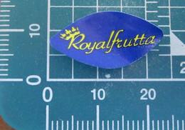 Royal Frutta Mini Etichetta Fruit Frutta Adesiva Usata - Fruit En Groenten