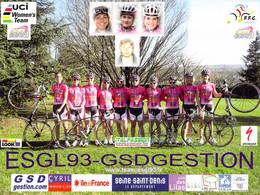 CYCLISME: CYCLISTE : GROUPE  LES LILAS - Ciclismo