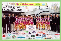 CYCLISME: CYCLISTE : GROUPE  FANINI - Ciclismo
