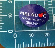 Meladoc Giuliani Mini Etichetta Fruit Frutta Adesiva Usata - Fruit En Groenten