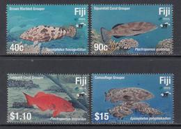 2019 Fiji Fish Poisson  Marine Life Complete Set Of 4 MNH - Fiji (1970-...)