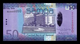 Samoa 50 Tala Commemorative 2012 Pick 42 Capicua Radar SC UNC - Samoa
