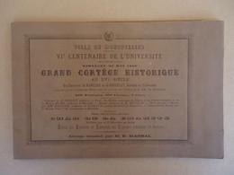 Album M.E. Marsal - Montpellier Grand Cortège Historique Au XVIe Siècle  Du Dimanche 23 Mai 1890  - - 1801-1900