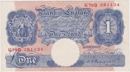 GREAT BRITAIN, 1 Pound ND, Emergency Issue - 1 Pound