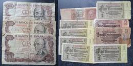 LOT BILLETS VRAC BANKNOTES TOTAL : 84 Grs PAPER - Lots & Kiloware - Banknotes