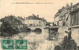 SAINT AMAND MONTROND LA MARMANDE AU PONT PASQUET - Saint-Amand-Montrond
