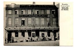 B18. Bruxelles: Hotel, Café, Restaurant Des Musées - Bruselas (Ciudad)