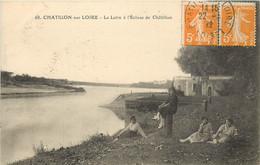 CHATILLON SUR LOIRE LA LOIRE A L'ECLUSE DE CHATILLON - Chatillon Sur Loire