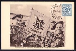 GUERRE DE COREE - 1951 . Débarquement Du Contingent Belge - Compagnie B .- OORLOG ZUID KOREA 1951 - Corea Del Sud