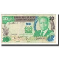 Billet, Kenya, 10 Shillings, 1984, 1984-07-01, KM:20c, TB - Kenya