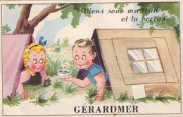88 Gerardmer , Carte A Systeme - Gerardmer