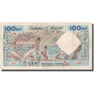 Billet, Algeria, 100 Nouveaux Francs, 1961, 1961-02-10, KM:121b, TB+ - Algeria