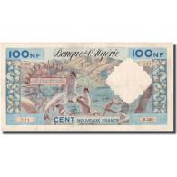 Billet, Algeria, 100 Nouveaux Francs, 1960, 1960-11-25, KM:121b, TTB+ - Algeria