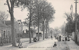 77 - N°74432 - DAMMARIE LES LYS - Rue De Melun - ELD - Dammarie Les Lys