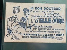 Rare Buvard Beurre Elle Et Vire - Food
