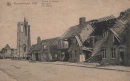 CPA - BELGIQUE - VLAMERTINGHE - Centre Du Village 1919 - Unclassified