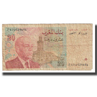 Billet, Maroc, 20 Dirhams, 1996, KM:67a, TB - Morocco