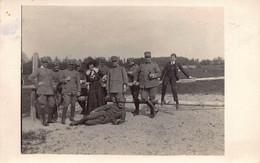 """2022"""" FOTO-cartolina GENERALE GRANDI DOMENICO  E GEN  PIRZIO BIROLI  IN ZONA DI GUERRA 1/5/1916"""" - Guerre, Militaire"""